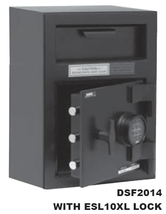 American Security Ds Series Dsf2014 Depository Safe The