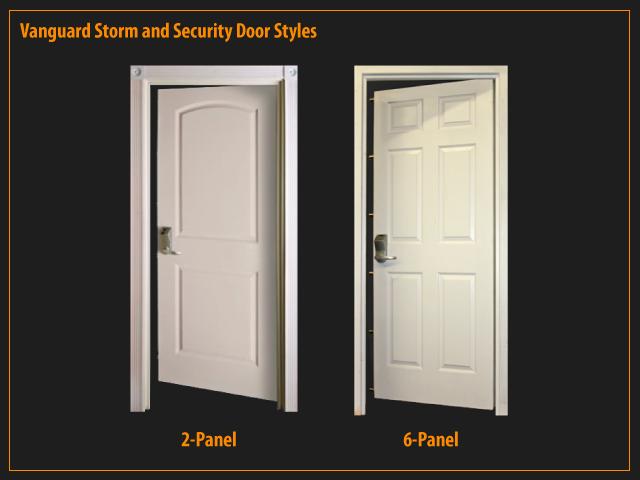 Vanguard 2 Panel U0026 6 Panel Door