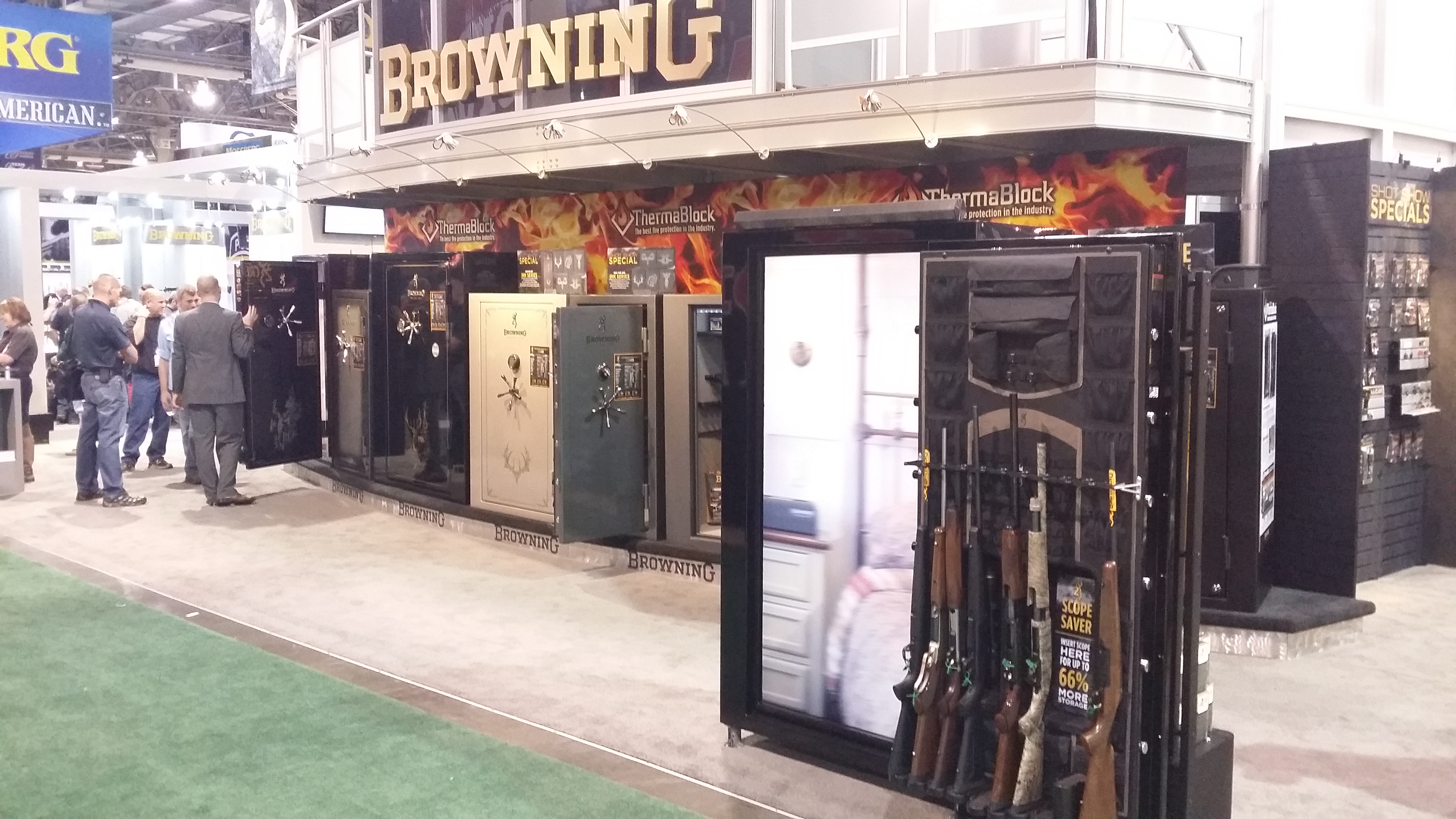 The Safe House Visits The 2015 Shot Show In Las Vegas
